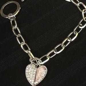 Mk bracelet silver